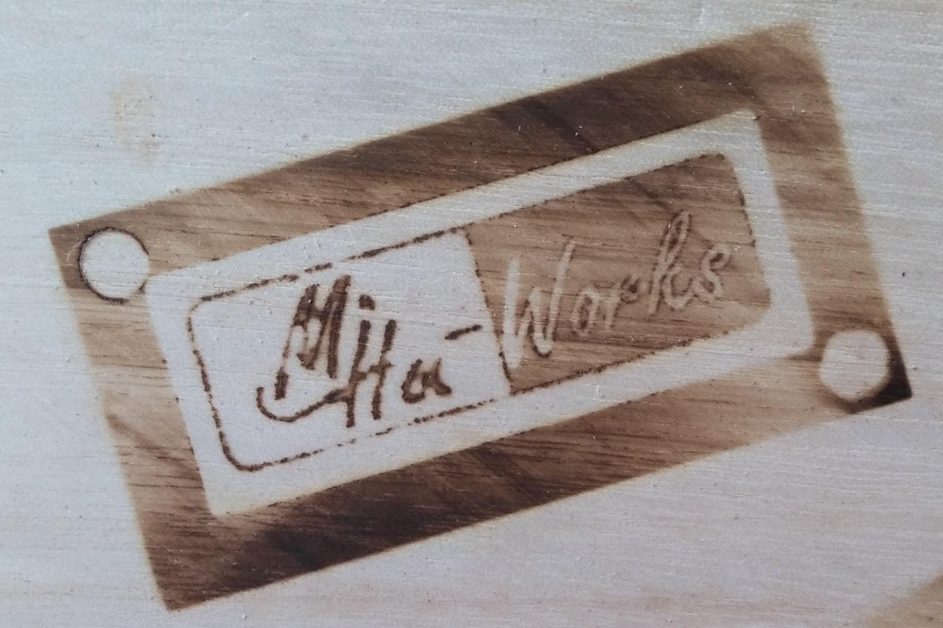 diy brandeisen / brenneisen – logo auf holz brennen – mihu-works