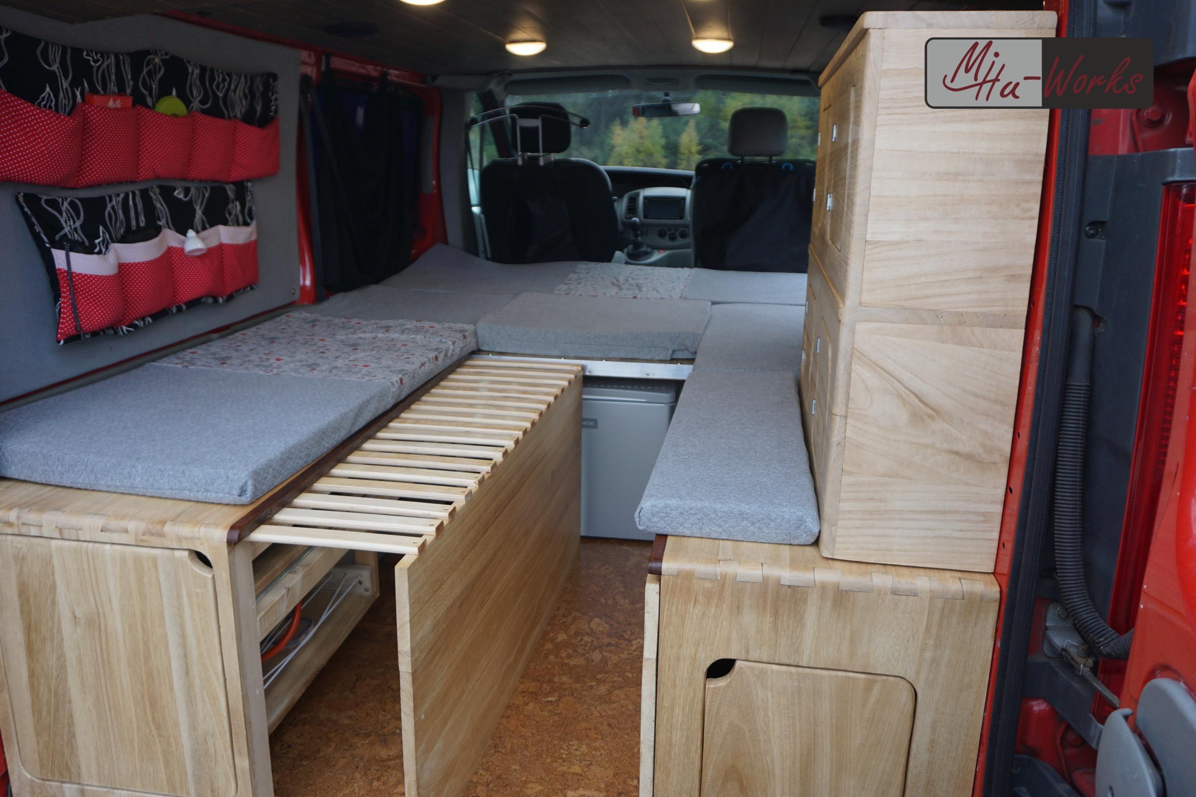 Diy Camper Ausbau Opel Vivaro Mihu Works