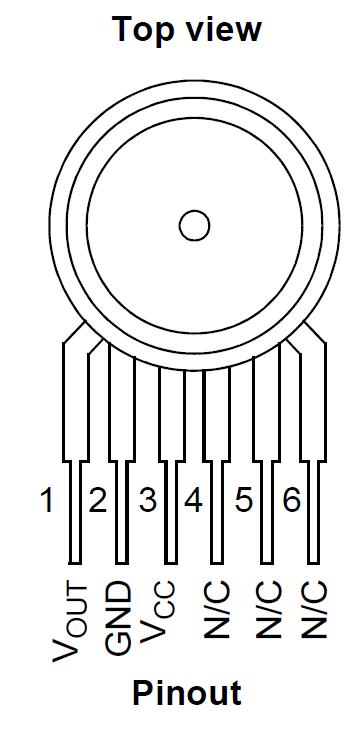 Pinout MPX5999D